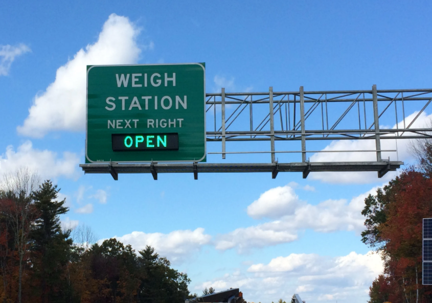 Road Check 2021 - Weigh Station